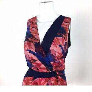 Anthropologie Dresses - Leifsdottir Floral Asymmetrical Dress - Size 4